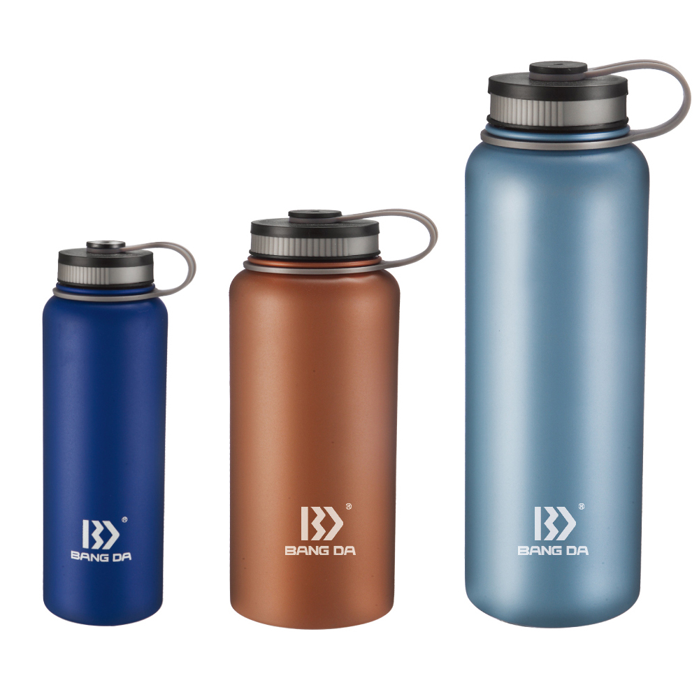 Wide Mouth Vacuum Insulated Water Bottle