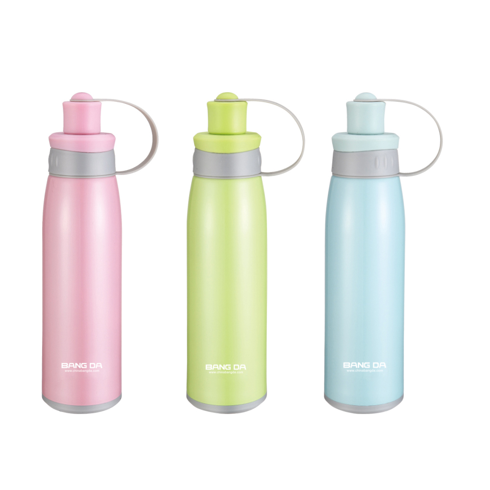 Vacuum Insulated Stianless Steel Water Bottle With Handle